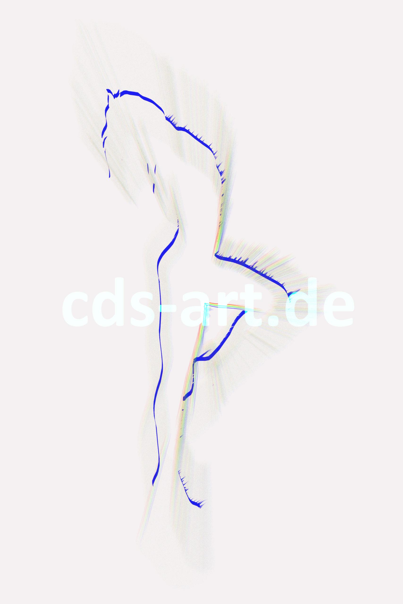 dancer blue line