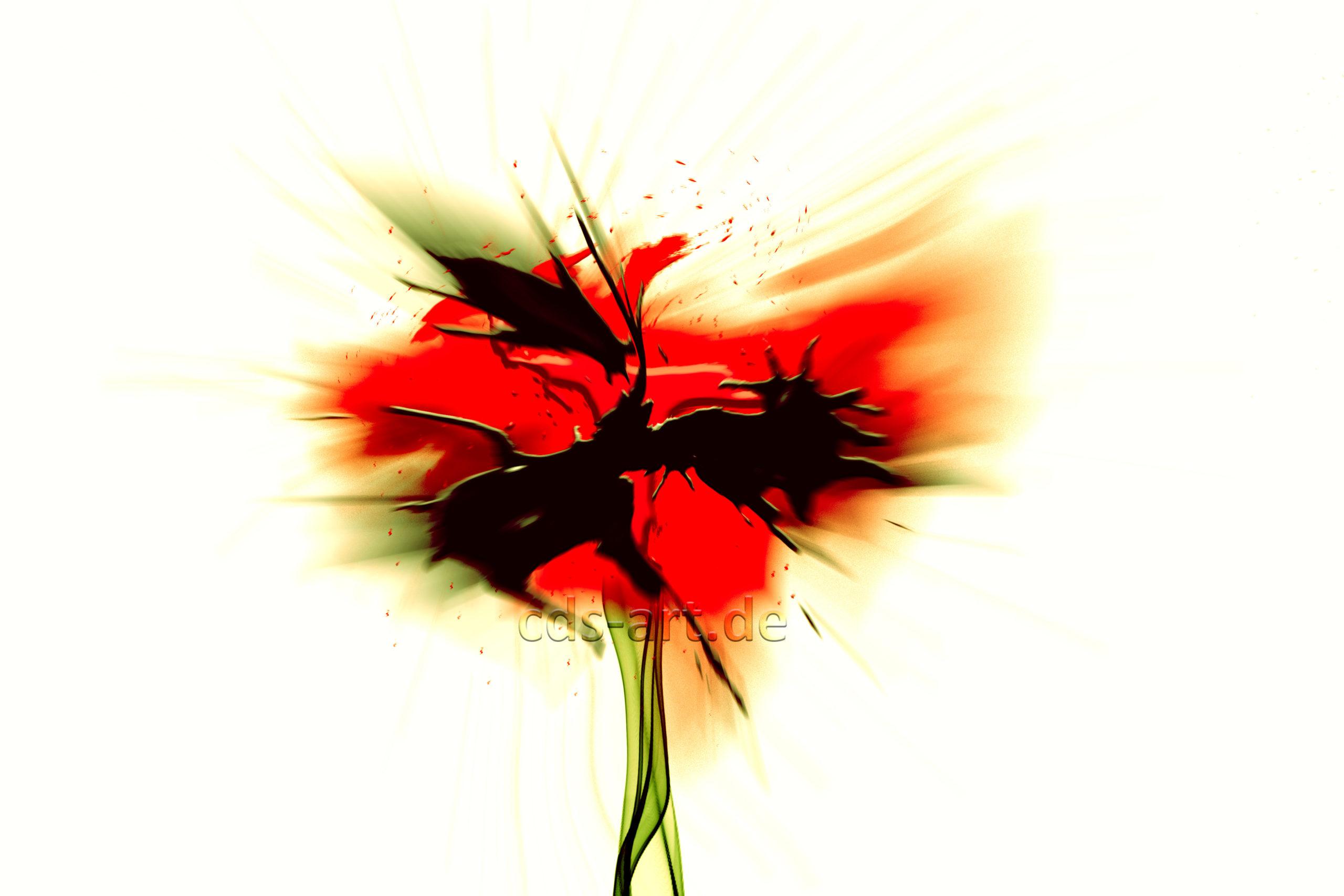 flowers red gross